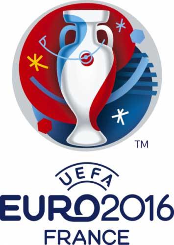 Vorsicht bei der Verwendung des offiziellen EM 2016 Logos - nur UEFA-Sponsoren dürfen dieses benutzen!