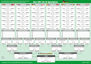 EM 2016 Spielplan pdf Download