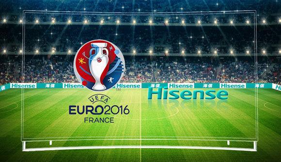 Dürfen mit dem offiziellen UEFA-Emblem werben: Hinsense! (Copyright Hinsense und UEFA EURO 2016)