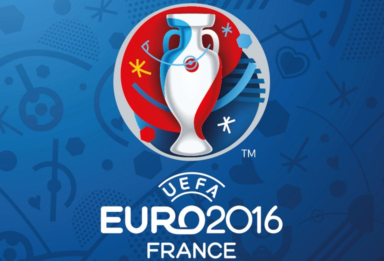 Das Logo der UEFA EURO 2016 (AFP PHOTO / UEFA)
