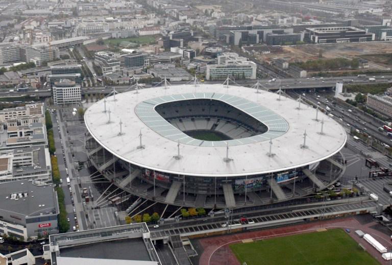 Stade de France in Saint-Denis, nahe Paris. Hier findet das EM Eröffnungsspiel statt! AFP PHOTO JOEL SAGET