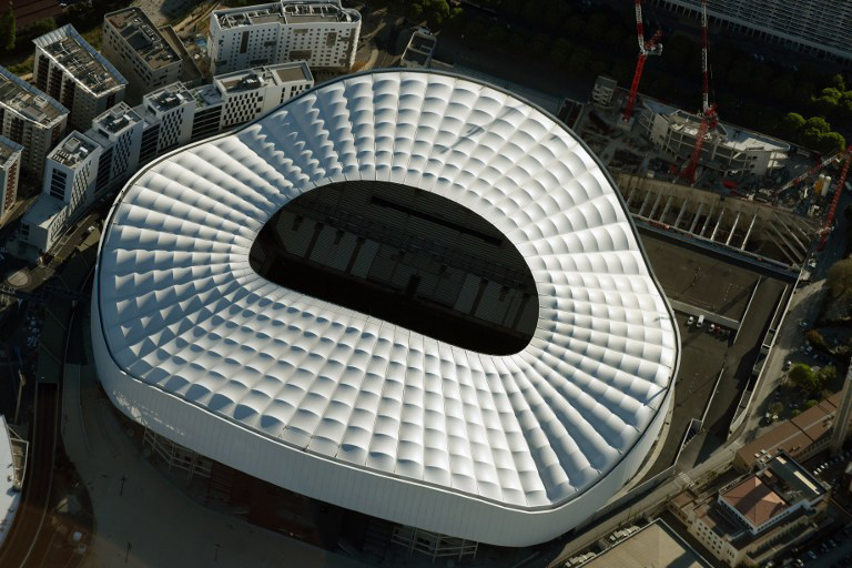 """EM-Stadion von Marseille """"Velodrome"""""""