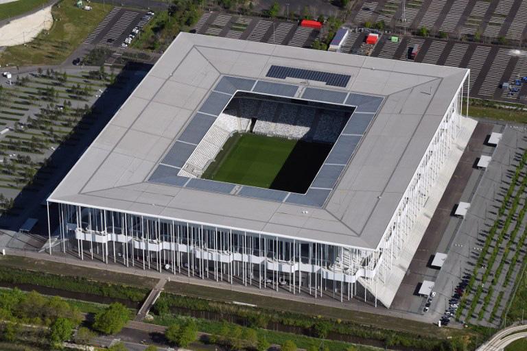 """EM-Fussballstadion von Bordeaux """"Stade de Bordeaux"""""""
