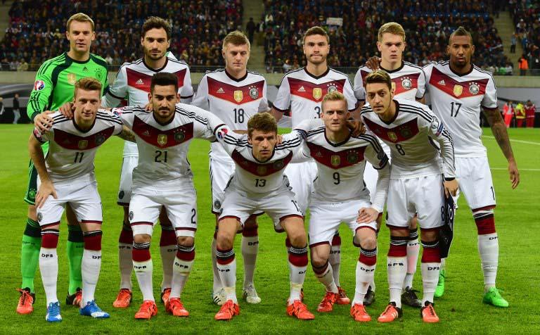 Aufstellung Deutschland Bei Der Fu 223 Ball Em 2016