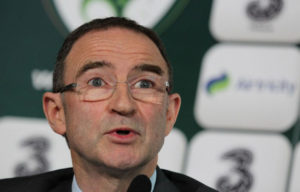Der irische Trainer Martin O'Neill.  AFP PHOTO/ PETER MUHLY