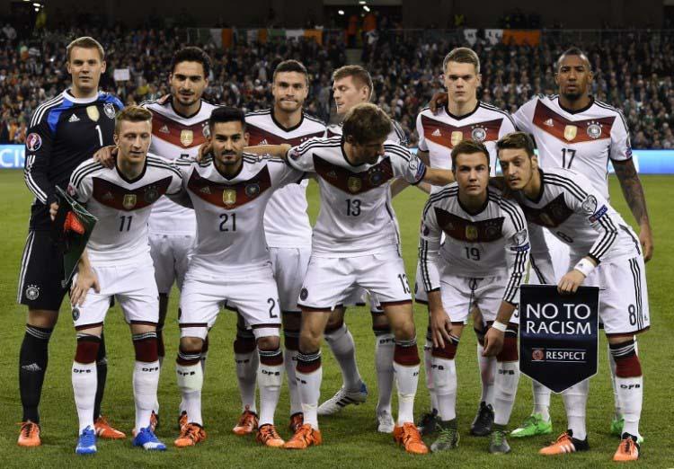 Startelf Deutschland gegen Irland am 08.10.2015 (Foto AFP)