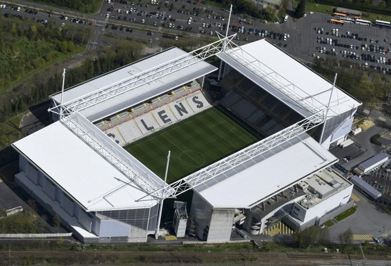 "EM-Fussballstadion von Lens ""Bollaert-Delelis"""