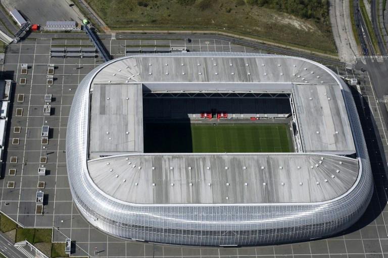 """EM-Fussballstadion von Lille """"Pierre-Mauroy stadium"""""""