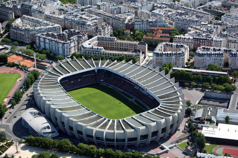 """EM-Stadion von Paris """"Parc des Princes"""""""