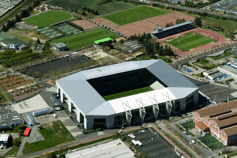 """EM-Fussballstadion von Saint-Etienne """"Stade Geoffroy-Guichard"""""""
