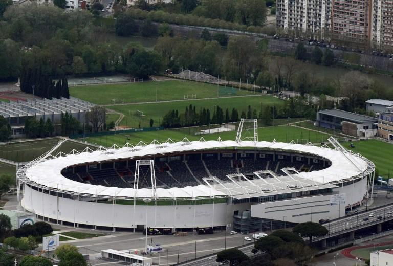 """EM-Fussballstadion vonToulouse """"municipal Stadium"""""""