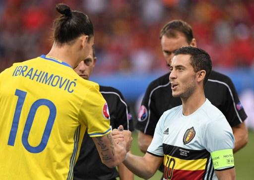 Eden Hazard & Zlatan Ibrahimovic