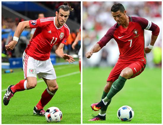 ARD Livestream Bale und Christiano Ronaldo heute Abend in der ARD (Foto AFP)
