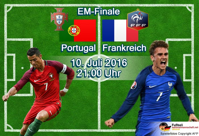 frankreich portugal live