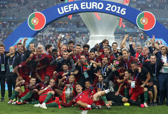 Portugal ist Europameister 2016! / AFP PHOTO / Valery HACHE